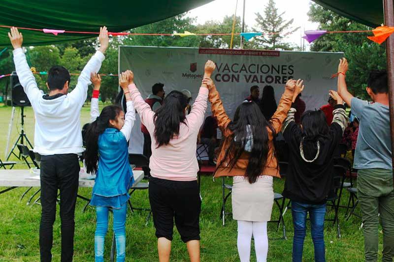 En Metepec se fomenta la convivencia familiar y vecinal