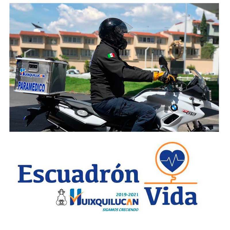 """Paramédicos de Huixquilucan conforman """"Escuadrón Vida"""""""