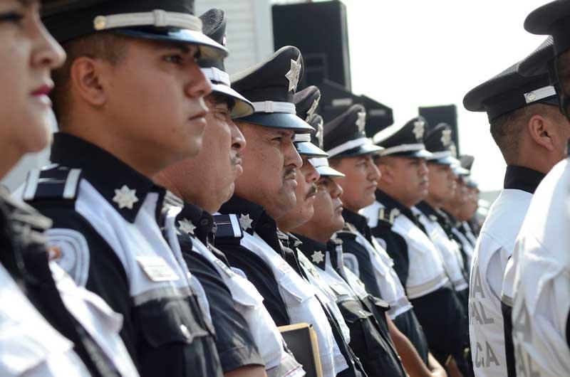 Fortalece Toluca su policía con acciones inéditas, después de 10 años