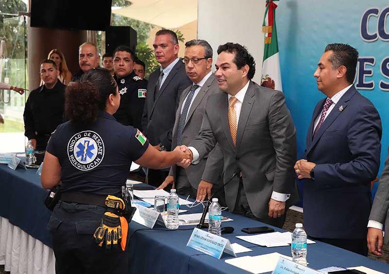 Se realizó la cuarta sesión del consejo municipal de seguridad pública en Huixquilucan