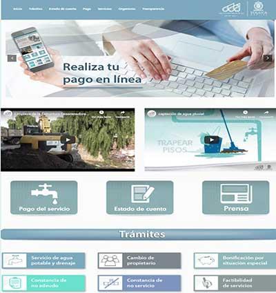 Moderniza Agua y Saneamiento de Toluca el sistema de pago en línea