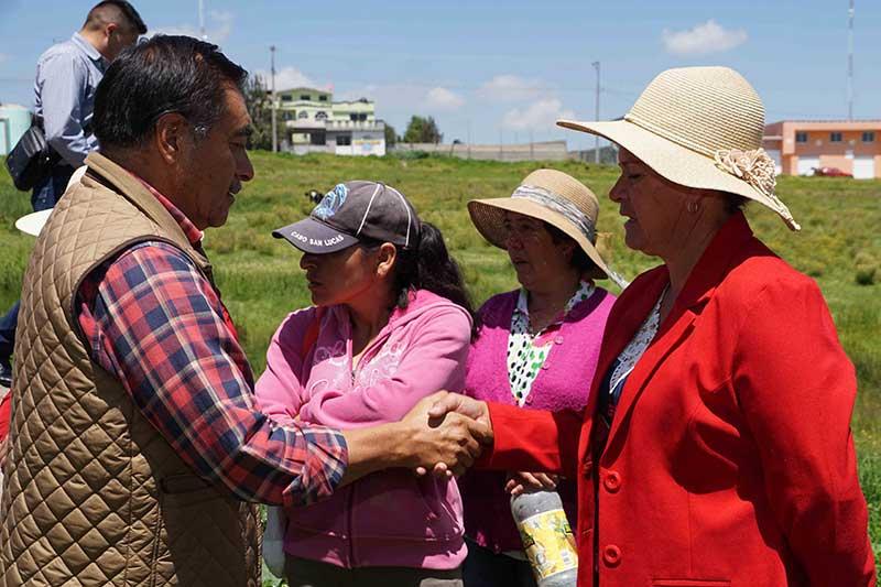 Ampliación de la red de electrificación del paraje El Botiquín, San Agustín Poteje Sur