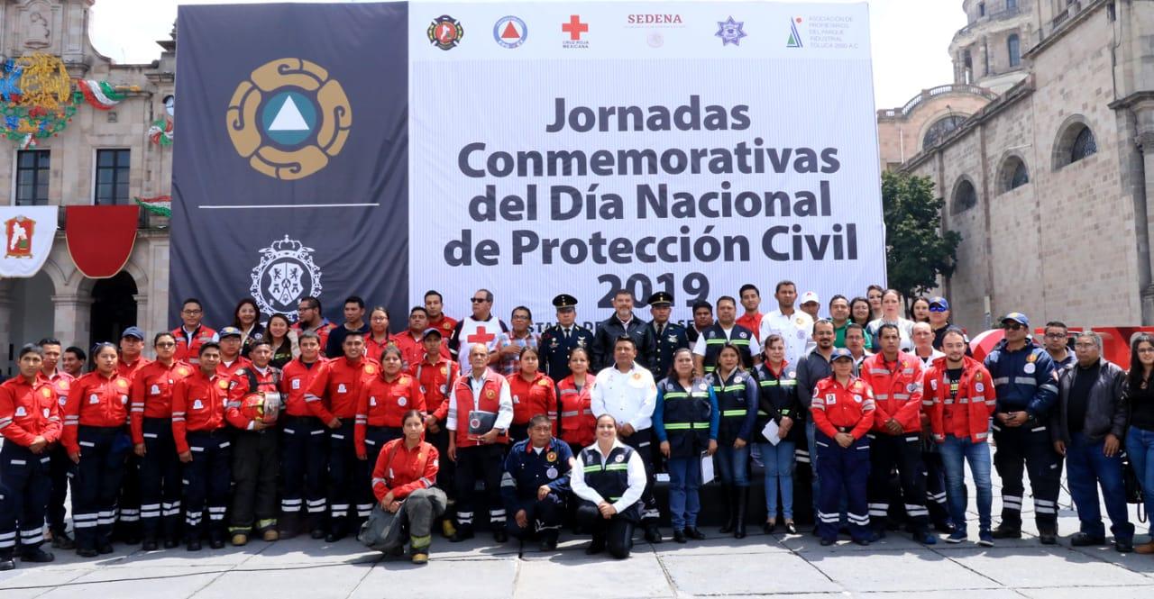 Concluyen las jornadas conmemorativas del Día Nacional de Protección Civil 2019