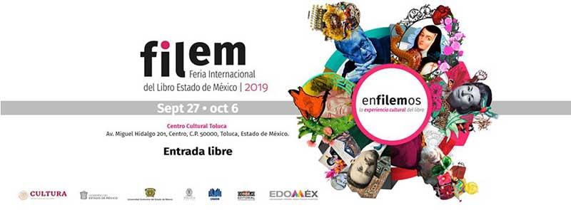 Participará Ayuntamiento de Toluca con más de 50 actividades durante la FILEM