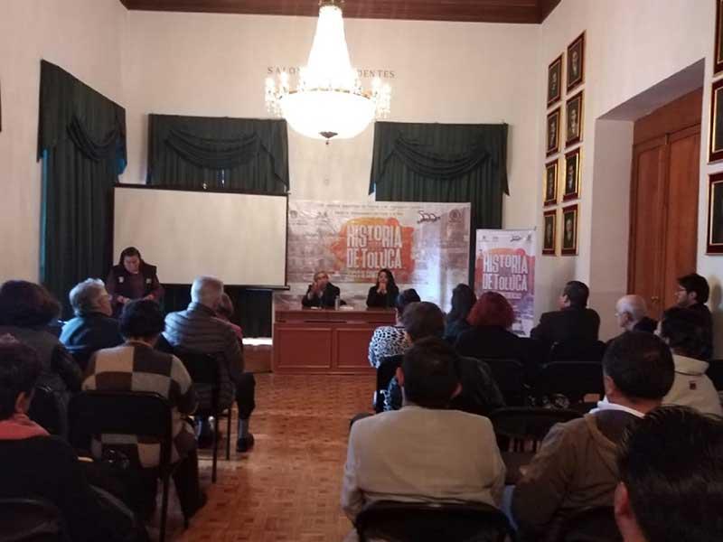 Difunden primeros asentamientos Españoles en Toluca