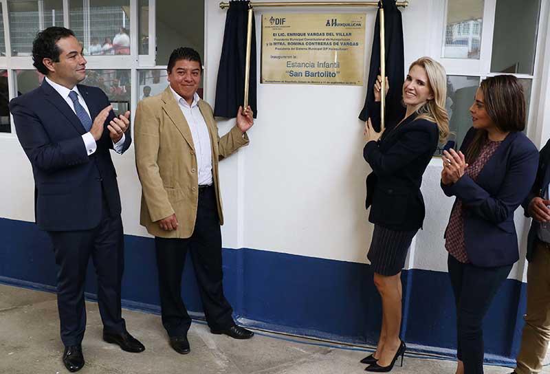 Se abre sexta estancia infantil en Huixquilucan