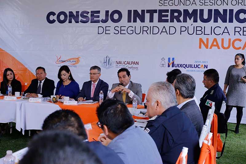 Destaca Huixquilucan en materia de Seguridad
