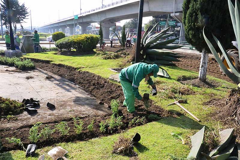 Embellece Toluca Monumento a Niños Héroes y Parque Lineal Las Torres