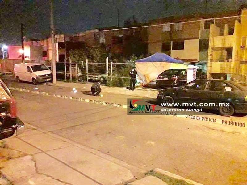 Asesinan a dos a balazos en Inf. San Francisco Metepec