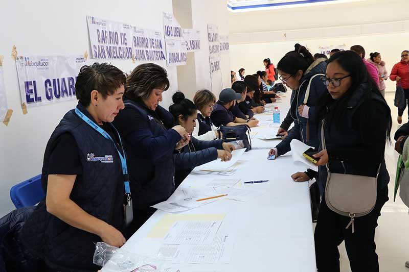 Se fortalecen los programas Sociales en Huixquilucan