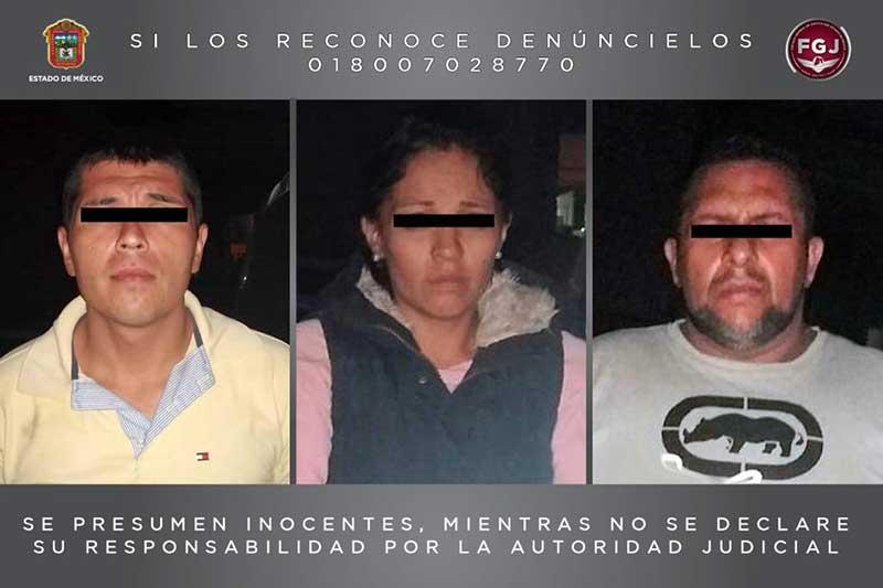 Robaron un Uber en Querétaro y los detuvieron en Toluca