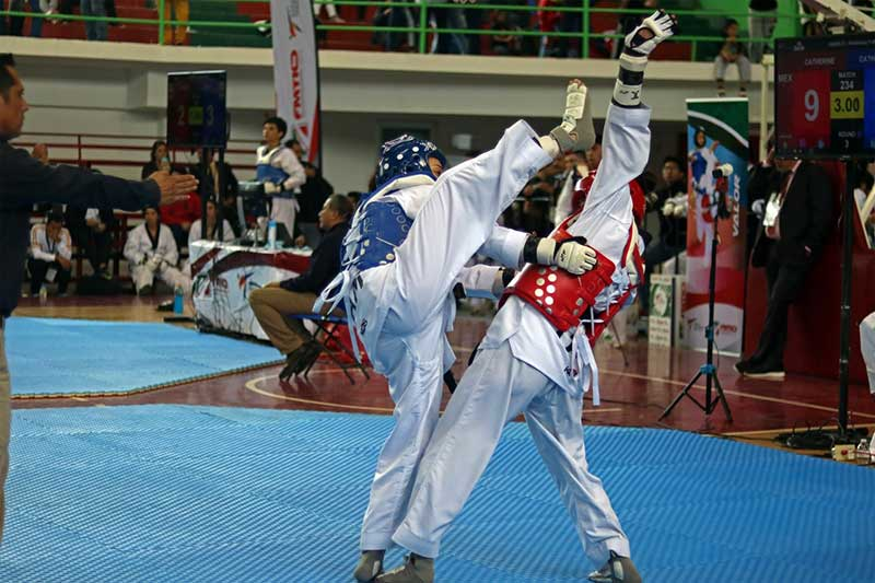 Recibe Ciudad Deportiva el Abierto Mexiquense de Taekwondo
