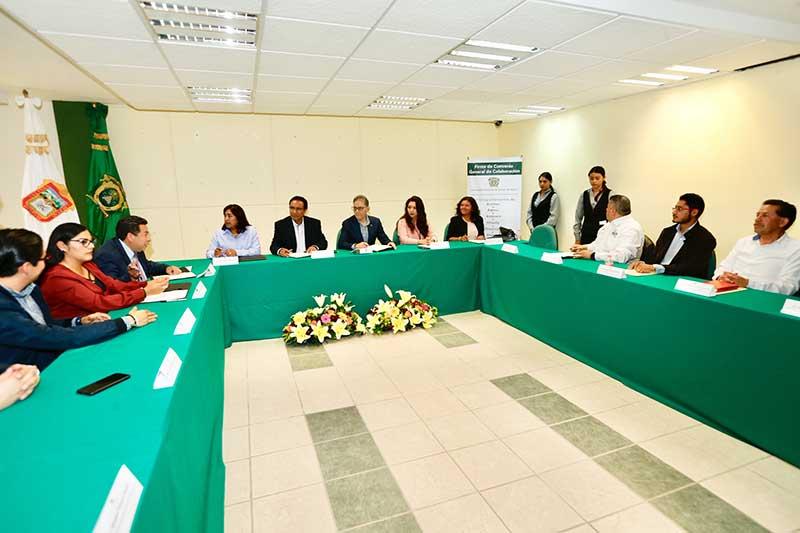 UAEM firma convenio de colaboración con 11 municipios