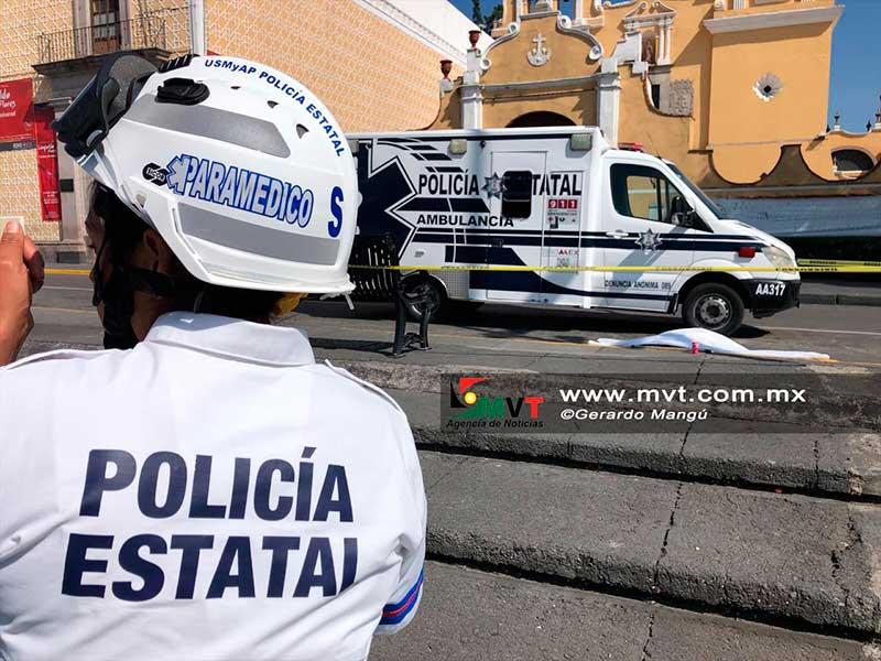 Camión atropella a mujer que pedía limosna frente a la iglesia del Carmen