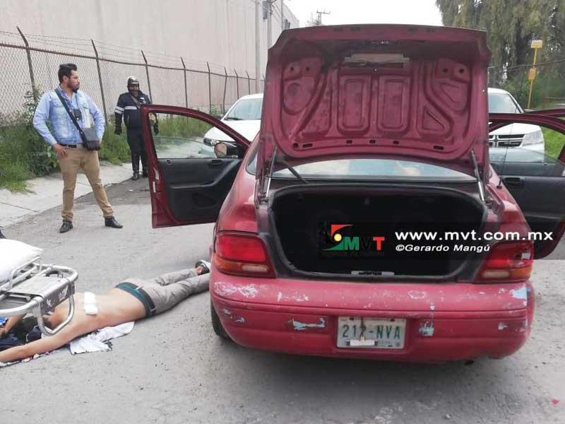 """""""El Brayan"""" trata de evadir su captura pero recibe un disparo de la policía en Lerma"""
