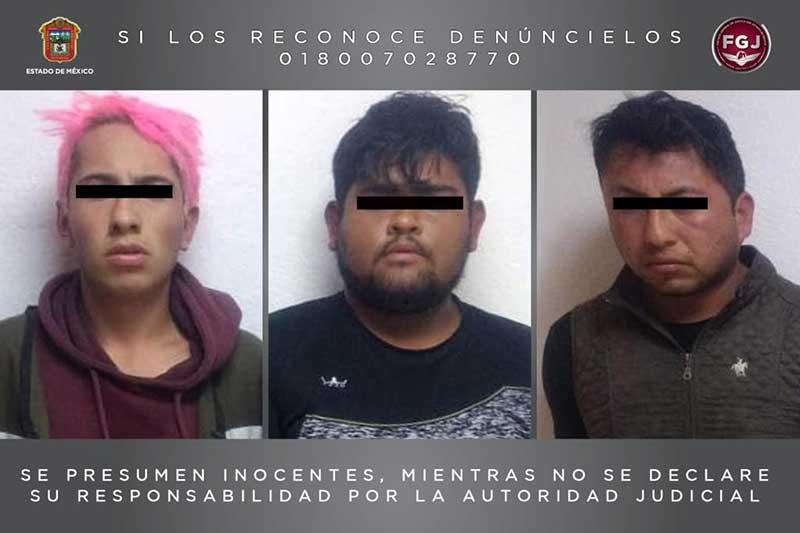 Vinculan a proceso en Toluca a tres extorsionadores del cártel Jalisco Nueva Generación