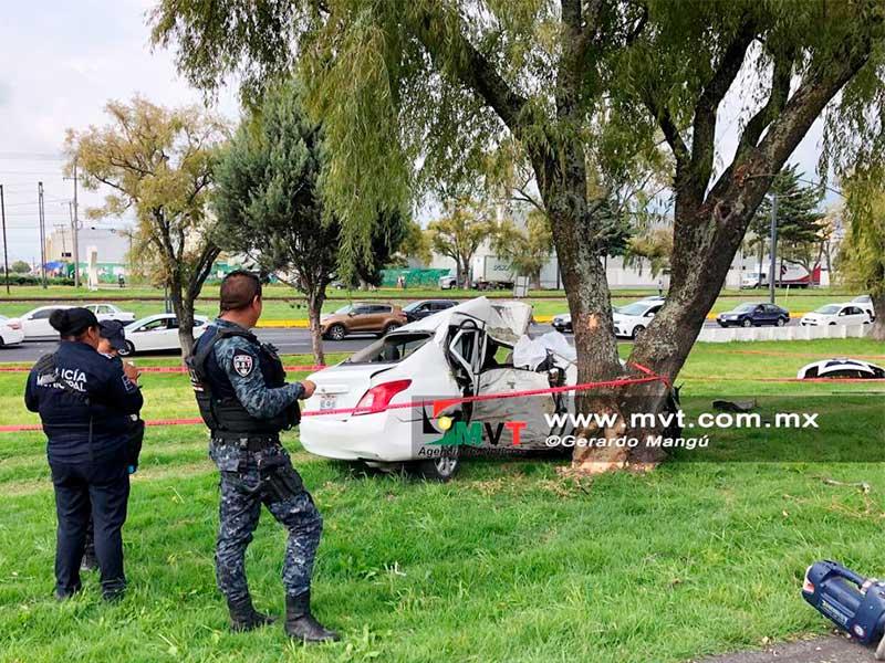Un muerto por accidente en Tollocan a la altura de Santa Elena