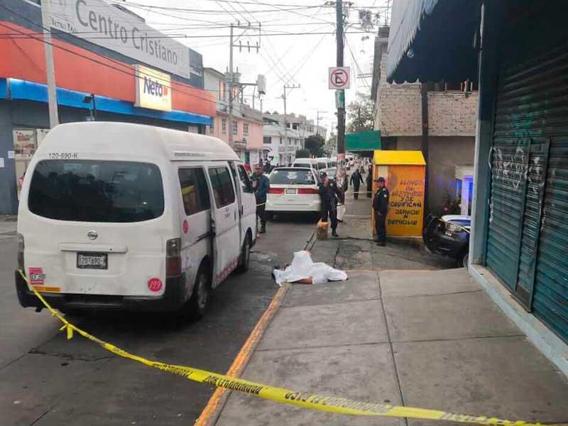 Muere estudiante por asalto a transporte público en Naucalpan