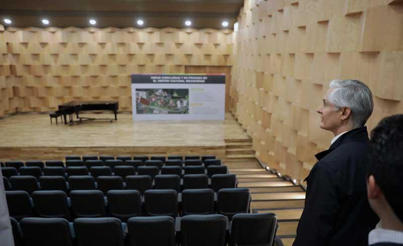 Inaugura Alfredo del Mazo nuevo conservatorio de música del Edoméx