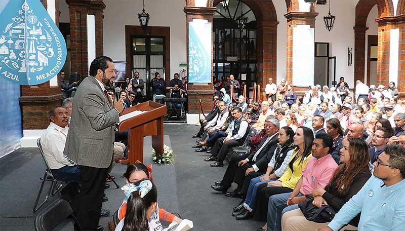Instaura Toluca el 22 de cada mes como el Día Azul