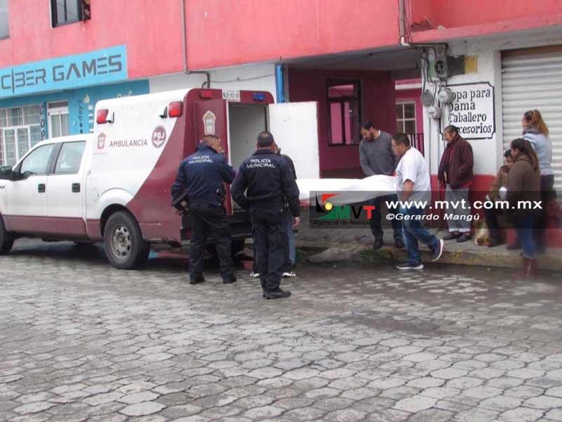 Localizan a una joven muerta en San Lorenzo Tepaltitlán Toluca