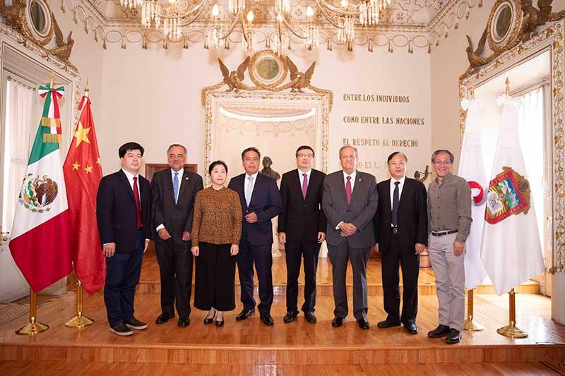 Jueces de Fujian, China visitan a magistrados del Poder Judicial del Edomex