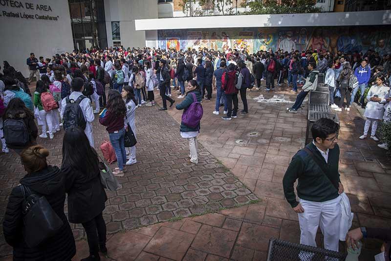 UAEM se sumó a Macrosimulacro Nacional Simultáneo 2019