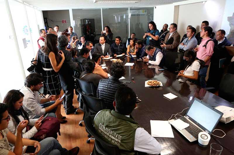 Metepec busca garantizar la seguridad de los periodistas