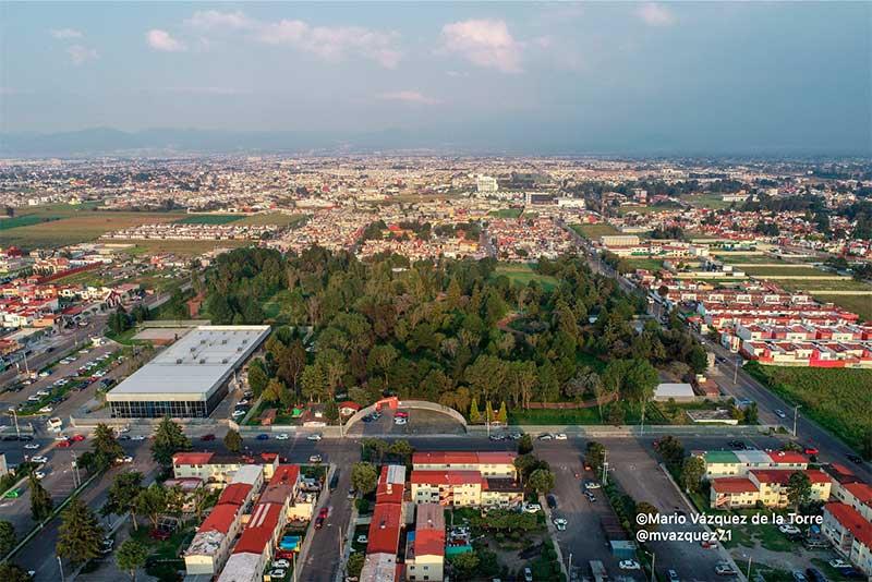 Cabildo de Metepec concede parque La Pila para la Guardia Nacional