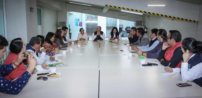 Continúa mesa de trabajo entre la Codhem y periodistas para crear protocolo de protección