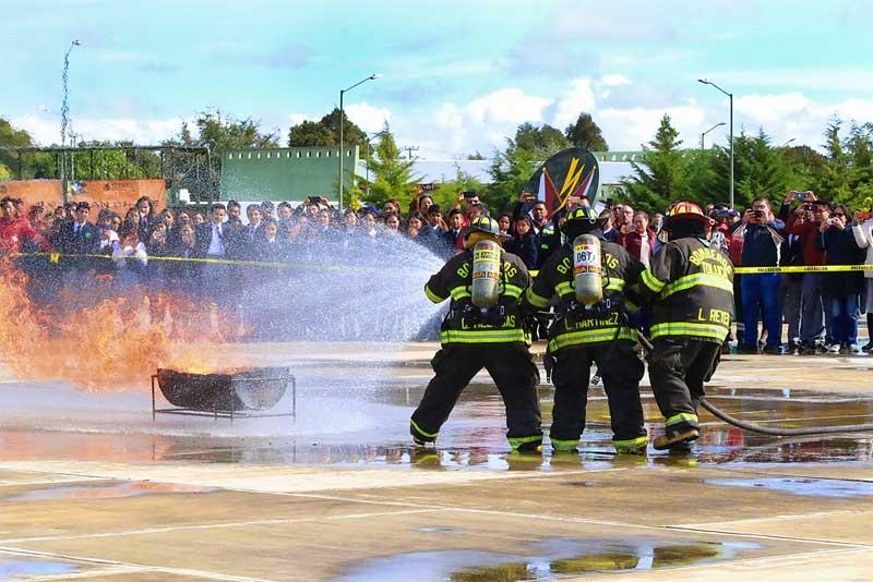 Realiza Toluca Jornada Conmemorativa de Protección Civil