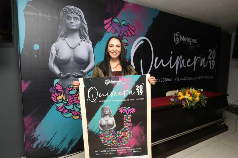 Presentan la cartelera de Quimera 2019
