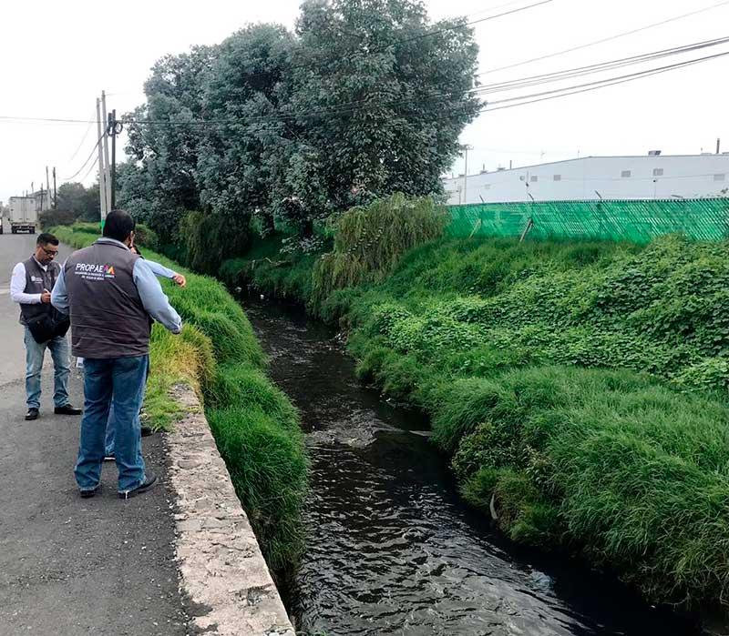 Propaem emite recomendación a municipios para controlar contaminación del río Lerma