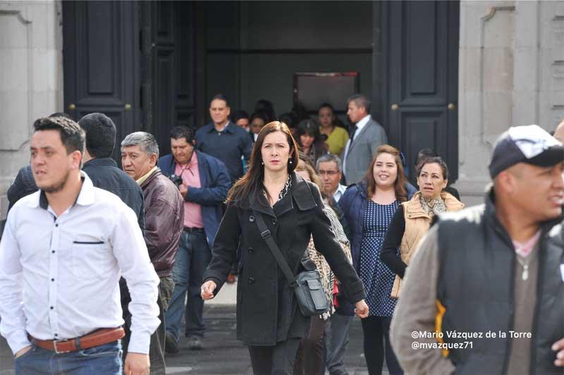 Participan 6 millones de mexiquenses en Macro Simulacro Nacional
