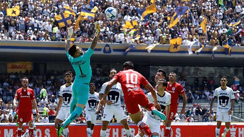 Toluca pierde contra Pumas con gol de ultimo minuto