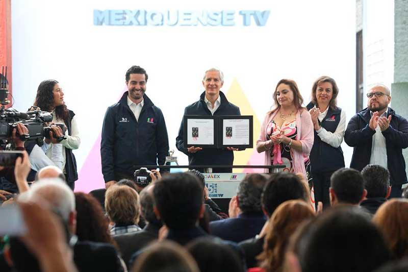 Cumple 35 años de vida el Sistema de Radio y Televisión Mexiquense