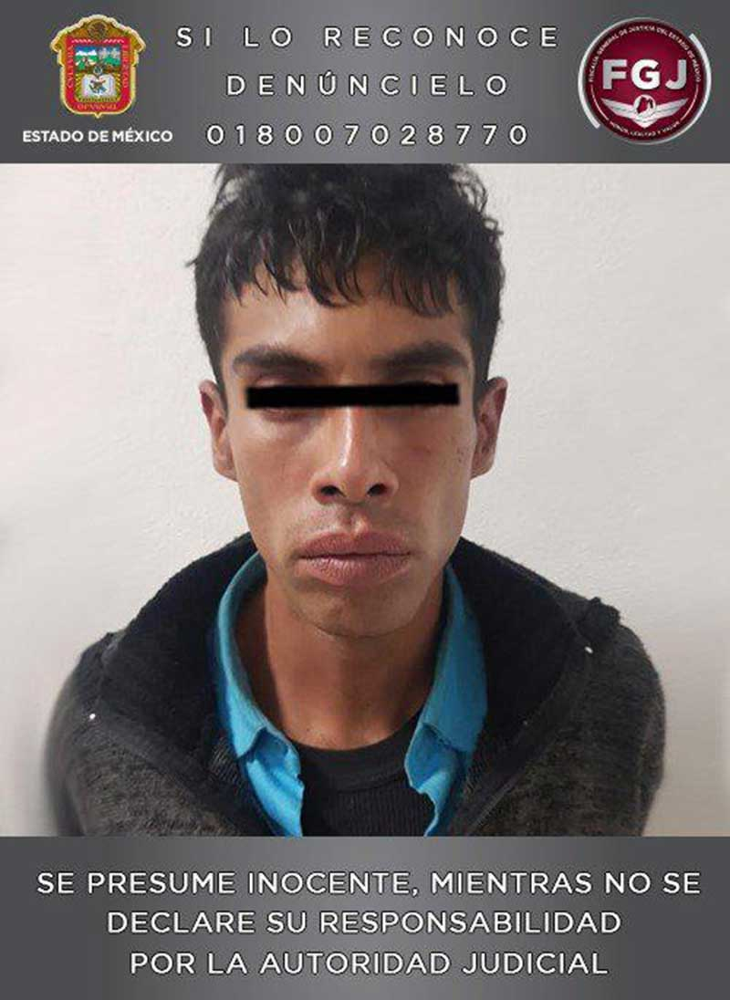 Recapturan a sujeto que se evadió cuando era trasladado al penal de Ecatepec