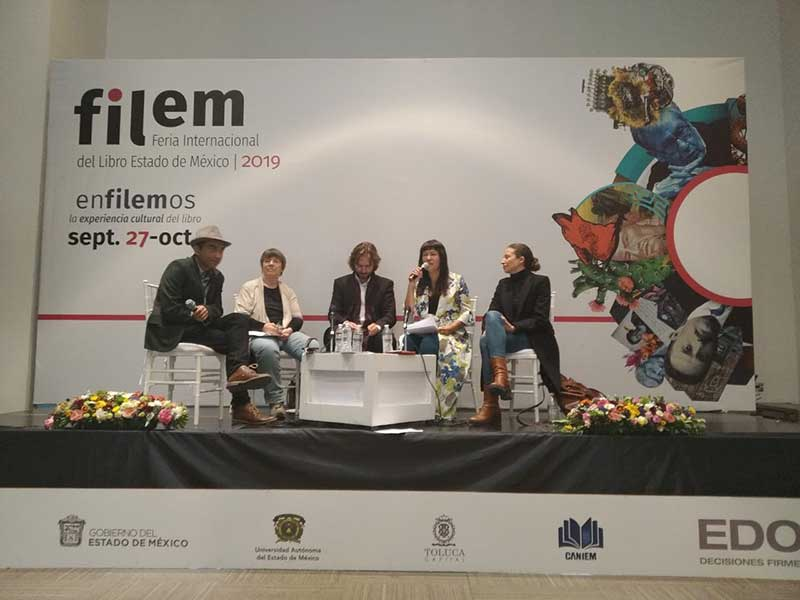 Participan Mexiquenses en charlas, conferencias y homenajes durante la FILEM 2019