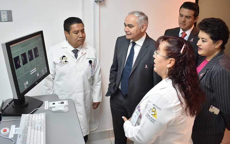 Instituto Materno Infantil recibe mastógrafo digital