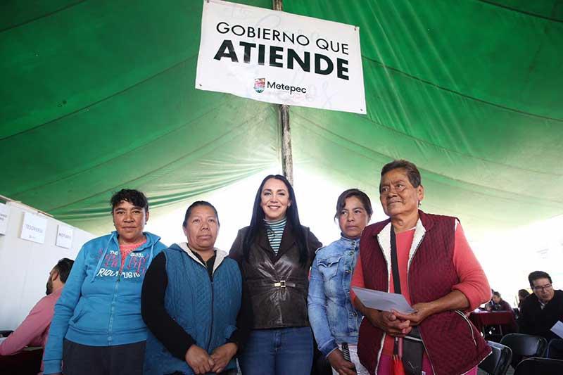 Ayuntamiento de Metepec asume compromisos permanentes: Gaby Gamboa