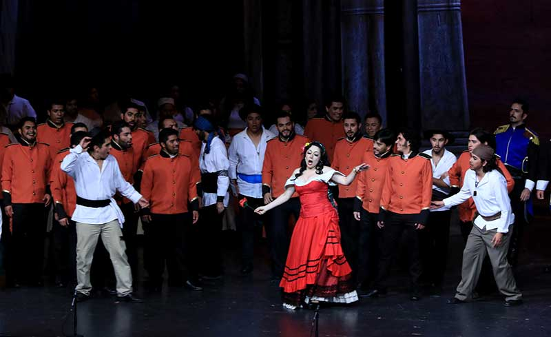 Presenta la OFiT con gran éxito la ópera Carmen