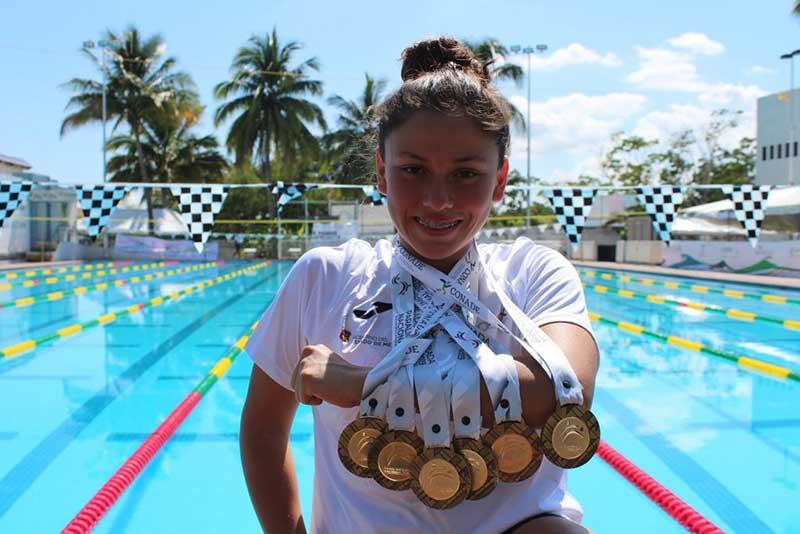 Para-Natación obtiene 63 medallas en Paralimpiada Nacional de Colima 2019