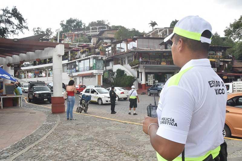 Policía Estatal despliega 400 elementos al Festival de las Almas