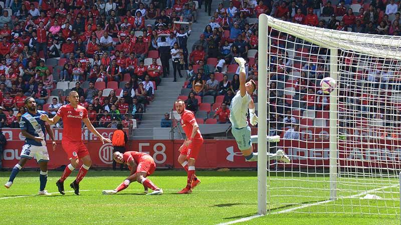 El Toluca consigue empate de ultimo momento con el Puebla