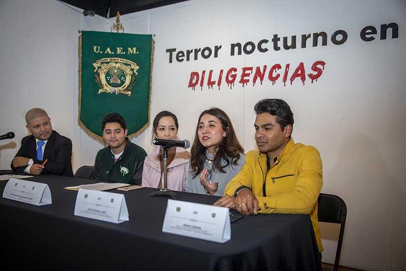 """Invita UAEM a """"Terror nocturno en Diligencias"""""""