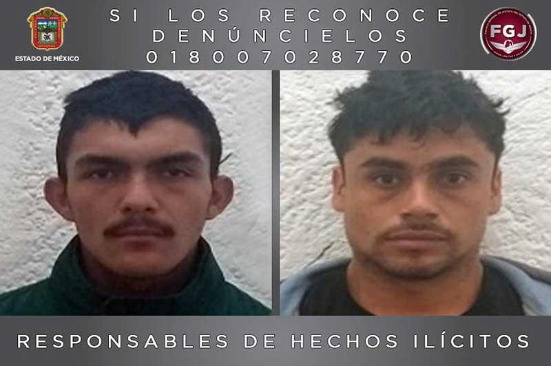 Prisión de 55 años a asesinos de una pareja en Valle de Bravo