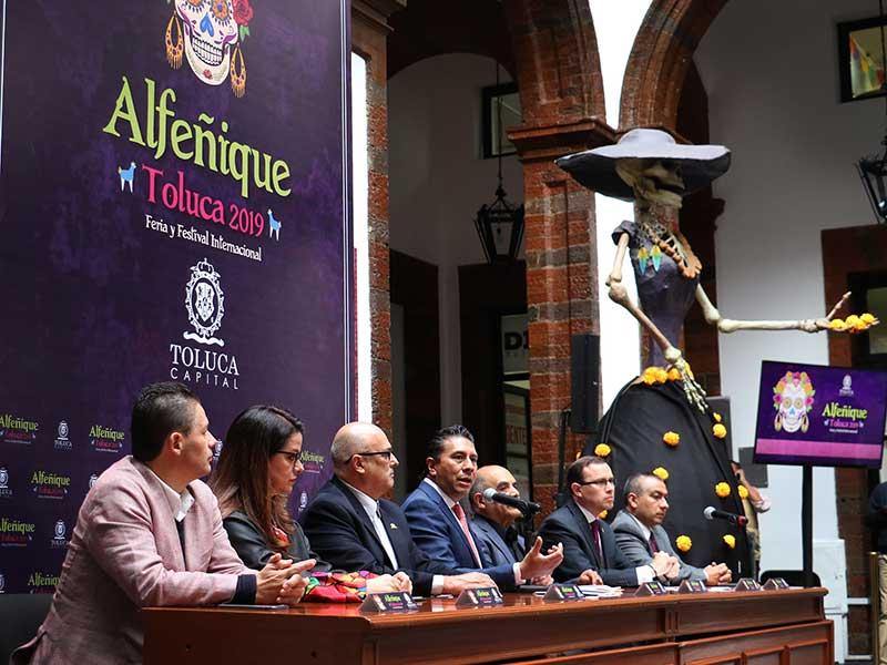 Se esperan más de un millón de personas en la Feria y Festival Internacional Alfeñique Toluca 2019