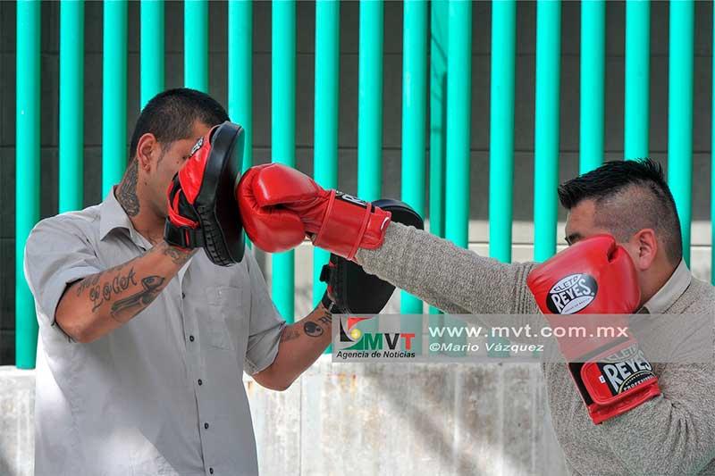 Treinta internos en el penal de Tenango del Valle inician taller de box