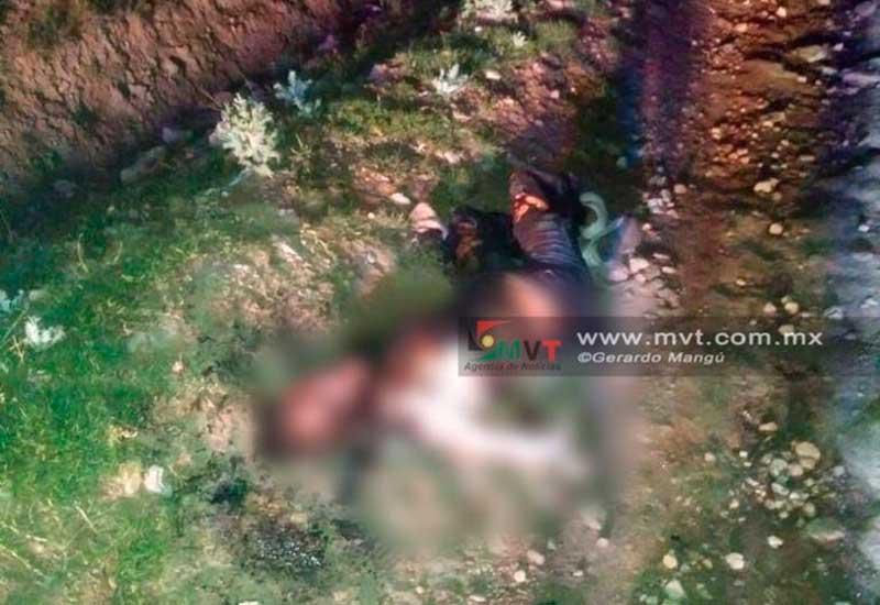 Asesinan y prende fuego a una mujer en Cacalomacán, al sur de Toluca