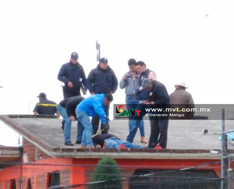 Muere electrocutado un instalador de televisión por cable en Calimaya